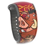 Disney MagicBand 2 Bracelet - Timon & Pumbaa - The Lion King