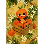 Disney Postcard - Joey Chou - The Orange Bird
