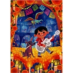 Disney Postcard - Joey Chou - Miguel and Dante