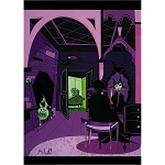 Disney Postcard - McBiff - Gothic Beauty