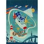 Disney Postcard - John Coulter - Galaxy Getaway