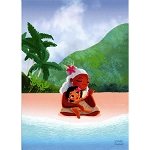 Disney Postcard - Nidhi Chanani - I Will Be With You