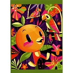Disney Postcard - Jeff Granito - Orange You Glad We Tiki