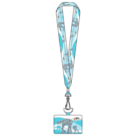 Disney Loungefly Lanyard with Cardholder - Star Wars Empire 40th Anniversary