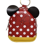 Disney Keychain - Miniature Backpack Coin Purse - Minnie Mouse