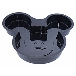 Disney Cake Pan - Mousewares - Mickey Mouse Cake Mold - Silicone - Black