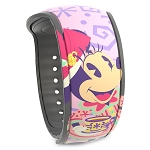 Disney MagicBand 2 Bracelet - Minnie Mouse The Main Attraction - Mad Tea Party - Limited Edition