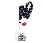Disney Loungefly Lanyard with Cardholder - Mickey and Friends - Disney Sensational 6