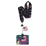 Disney Loungefly Lanyard with Cardholder - Alice in Wonderland Cheshire Cat