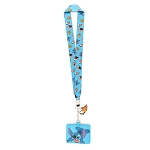 Disney Loungefly Lanyard with Cardholder - Lilo and Stitch Swimming