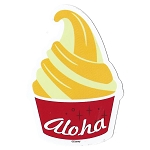 Disney Window Decal - Dole Whip - Aloha