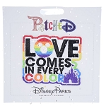 Disney Iron On Patch- PatcheD - Love Comes In Every Color