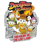 Disney Pin - DuckTales The Movie: Treasure of the Lost Lamp Pin – 30th Anniversary