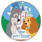 Disney Visa Pin - Lady and the Tramp 65th Anniversary