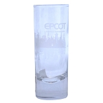 Disney Shooter Shot Glass - EPCOT World Showcase - Etched