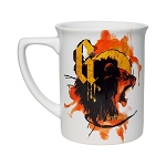 Universal Coffee Cup Mug - Gryffindor Lion Watercolor