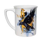 Universal Coffee Cup Mug - Ravenclaw Eagle Watercolor