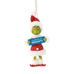 Universal Ornament - Grinch - I'm Here for the Presents