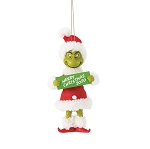Universal Ornament - Grinch - Merry Christmas 2020