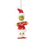 Universal Ornament - Grinch - Ho! Ho! Ho!