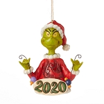 Universal Grinch by Jim Shore Ornament - Grinch 2020