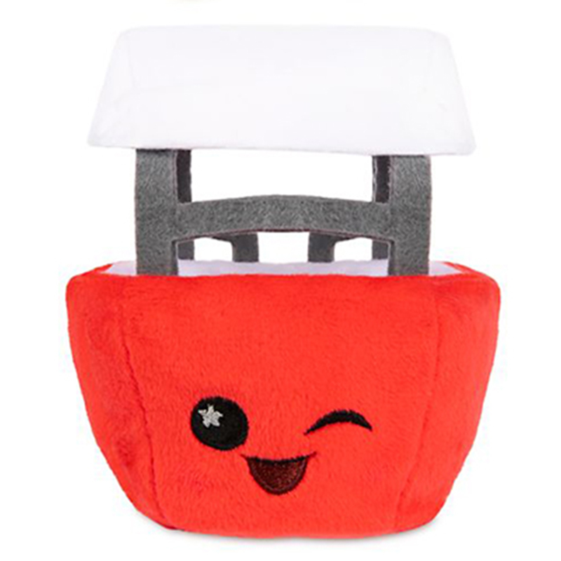 Disney Wishables Plush - Skyway Bucket - Red - Disneyland 65th Anniversary Series