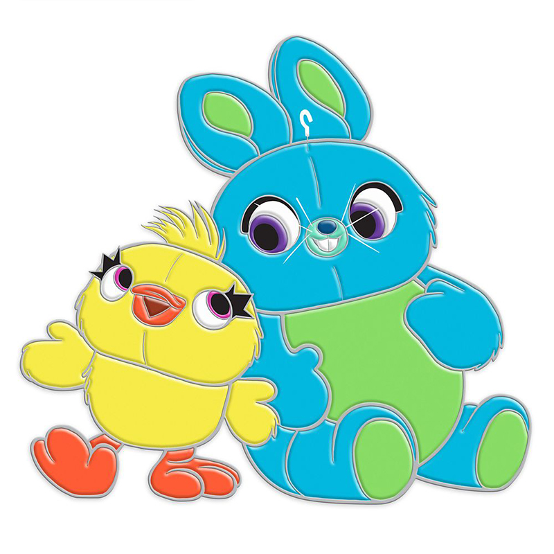 Disney Pin - Toy Story 4 - Ducky and Bunny
