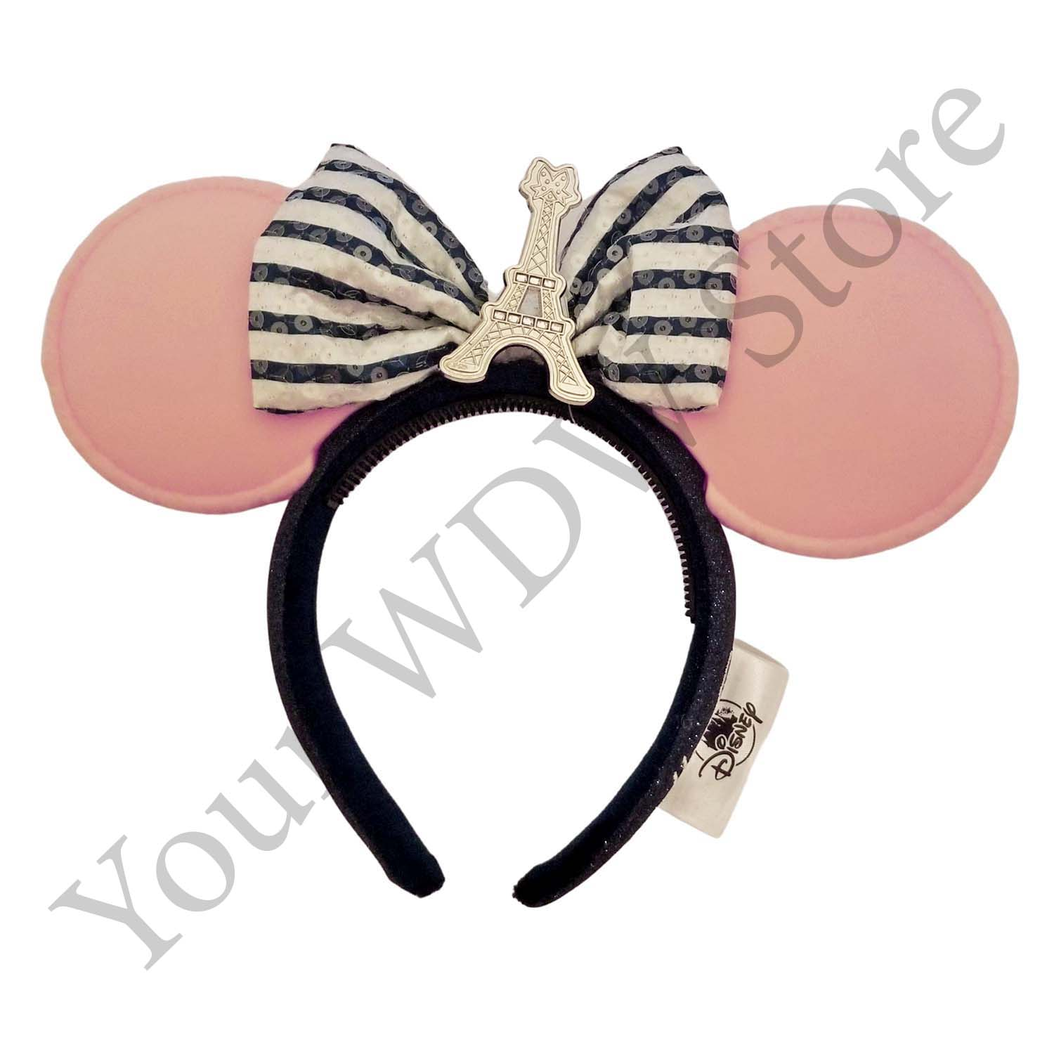 Disney Ear Headband - Minnie Mouse France Macaron Ears