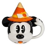 Disney Coffee Cup Mug w/ lid - Happy Halloween Minnie Mouse Witch