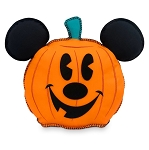 Disney Throw Pillow - Happy Halloween - Mickey Mouse Hey Pumpkin - 15''