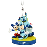 Disney Figure Ornament - Mickey and Minnie - Disneyland 65th Anniversary