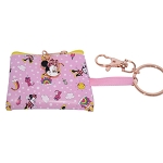 Disney Keychain - Coin Purse - Minnie Mouse and Castle