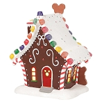 Disney Village Figure - Mickey's Gingerbread House