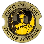 Disney Pin - Star Wars Galaxy's Edge: Rise of the Resistance - Princess Leia Organa