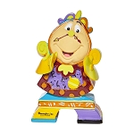 Disney by Britto Mini Figure - Beauty and the Beast - Cogsworth
