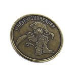 Disney World Pocket Token - Bronze - Magic Kingdom - Pirates of the Caribbean - Mickey Mouse