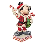 Disney Traditions by Jim Shore - Santa Mickey with Candy Canes