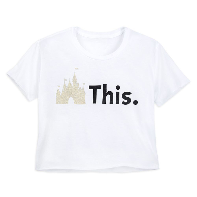 Disney Women's Shirt - Fantasyland Castle - This.