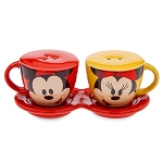 Disney Salt and Pepper Set - Mousewares - Mickey and Minnie Mouse