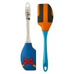 Disney Utensil Set - Baking Spatula Set - Donald Duck and Goofy