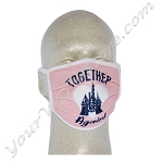 Disney Face Mask - Together Again - Cinderella Castle