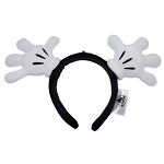 Disney Ear Headband - Mickey Mouse Gloves