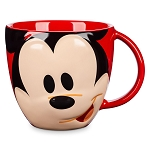 Disney Coffee Cup - Mousewares - Mickey Mouse Face Mug