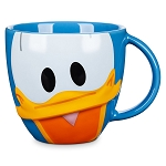 Disney Coffee Cup - Mousewares - Donald Duck Face Mug