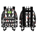 Universal Loungefly Bag - Beetlejuice Chibi Characters - Mini Backpack