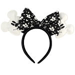 Disney Loungefly Ear Headband - Halloween - Ghost Mickey Mouse - Glow in the Dark