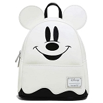 Disney Loungefly Mini Backpack - Halloween - Ghost Mickey Mouse - Glow in the Dark