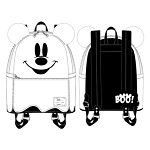 Disney Loungefly Bag - Halloween - Ghost Mickey Mouse - Glow in the Dark - Mini Backpack