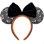Disney Loungefly Ear Headband - Halloween - Mickey & Minnie Vamp Witch