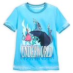 Disney Women's Shirt - Hades - Live and Direct from the Underworld